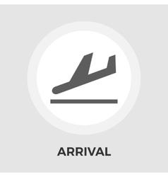 Departure flat icon vector image