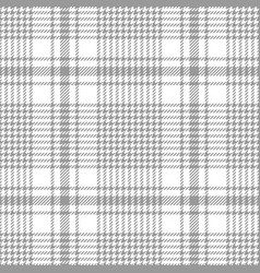 Glen check plaid pattern vector