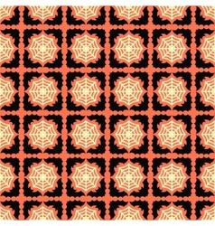 halloween pattern design background vector image