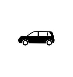 Hedgeback icon element of car type icon premium vector