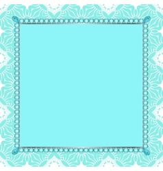 Invitation to the frame vector image