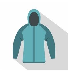 Sweatshirt icon flat style vector