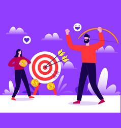 Target concept vector