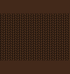 texture of leather weave brown background vector image