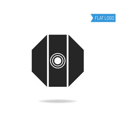 business technical and engineering logo for vector image