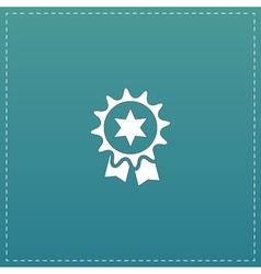 Award Icon Isolated on Background vector image
