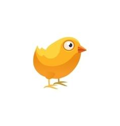 Chicken Simplified Cute vector image vector image