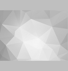 abstract gray paper triangles background vector image