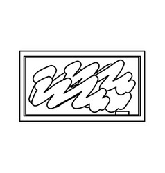blackboard school isolated vector image