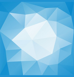 Blue low polygonal background vector