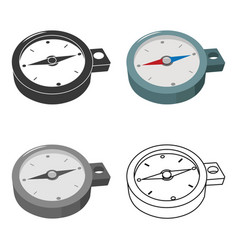 Compass icon of for web and vector