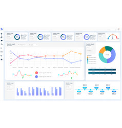Dashboard great design for any site purposes vector