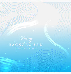Glowing abstract background design vector
