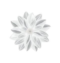 Paper flower in origami technique vector
