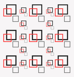 Seamless pattern square for textile printing vector
