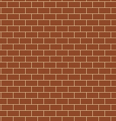 Seamless Pattern with Brick Wall Texture vector image