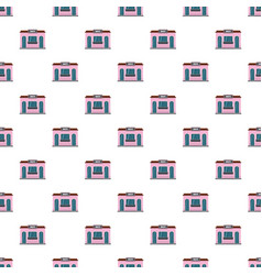 sweet shop pattern seamless vector image
