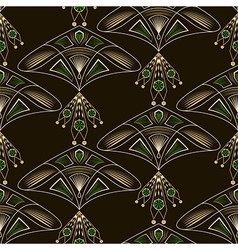 Seamless beautiful antique lace pattern ornament vector image