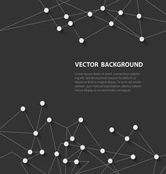 polygonal background4 vector image vector image