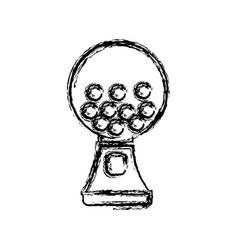 gumball machine icon vector image
