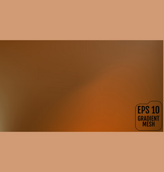 abstract orange and gold blurred gradient vector image