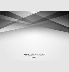 abstract technology geometric white and gray vector image