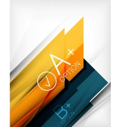 Business presentation stripes abstract background vector