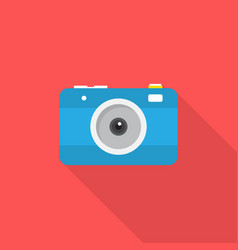 camera icon set of great flat icons design vector image