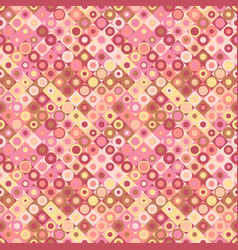 Colorful circle pattern background - seamless vector