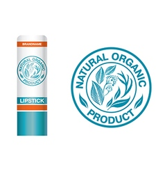 Logo natural pack vector