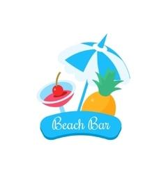 Summer Beach Bar vector