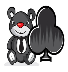teddy bear vector image