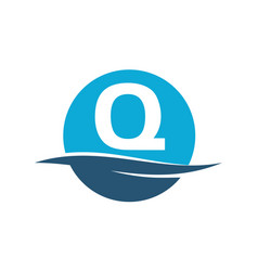 Wave water initial q vector