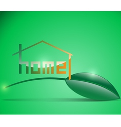 home 1 vector image