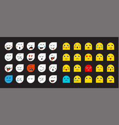 78 smileys vector