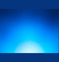 abstract blue ice triangles background vector image