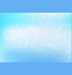abstract mesh background in pastel colors vector image