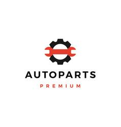 automotive part service logo icon vector image