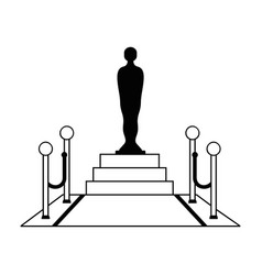 award film icon vector image