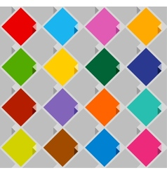Background from blank squares color vector