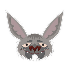 bat mask vector image