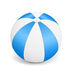 Blue Beach Ball vector
