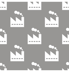 Factory seamless pattern vector