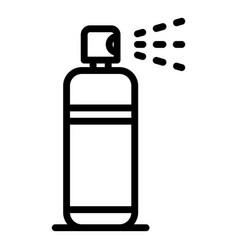 Fresh deodorant spray icon outline style vector