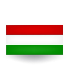 Hungarian Flag vector image