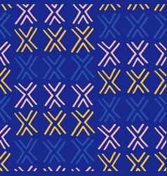 tribal boho native american seamless pattern vector image