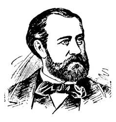 Charles f gounod vintage vector