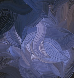 abstract hand-drawn wave pattern vector image