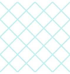 Mint white grid chess board diamond background vector
