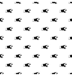 Hamster pattern simple style vector image vector image